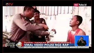 VIDEO VIRAL! Anggota Polrestabes Semarang Sampaikan Bahaya Miras Oplosan Sambil Nge-Rap - BIS 21/09