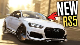 NEW Audi RS5 Coupe CUSTOMIZATION & New Races! | The Crew 2
