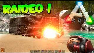 RAIDEO A LOS VECINOS !!! #23 ARK SURVIVAL EVOLVED RAIDEO Makigames