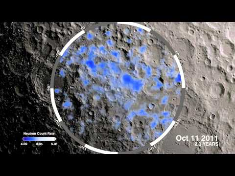 NASA's Lunar Reconnaissance Orbiter (LRO) Finds New Evidence of Water on Moon's South Pole