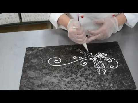 0 Making Chocolate Decorations