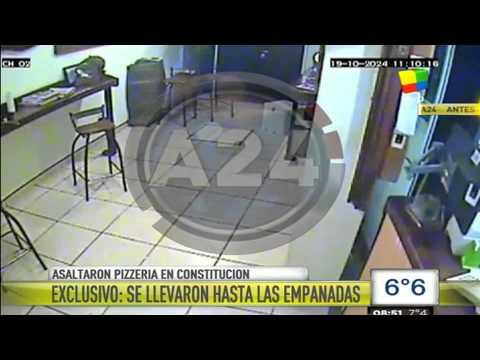 Robo en una pizzería: Se llevaron hasta las empanadas