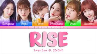 Jonas Blue Ft. IZ*ONE (아이즈원) - Rise - (Sub español + Eng Sub + Lyrics + Colorcodedlyrics + 가사)