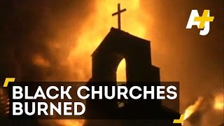 FBI Investigates Black Churches Burned in Southern States