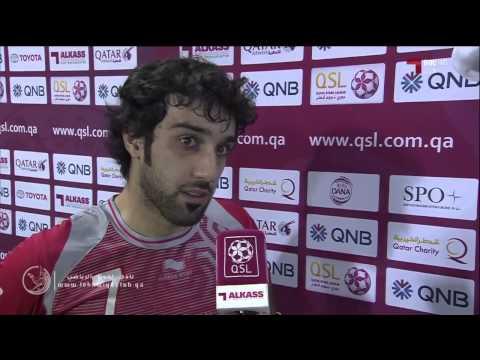 لخويا 1-0 السد ( لقاء مع خالد مفتاح )