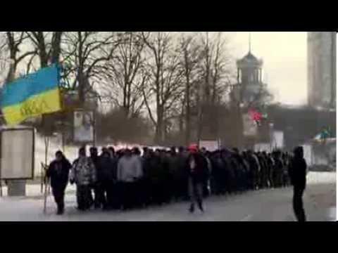 Inside Ukraine's protest town