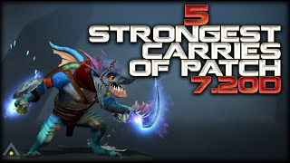 Dota 2: The 5 Strongest Carries in Patch 7.20d | Pro Dota 2 Guides