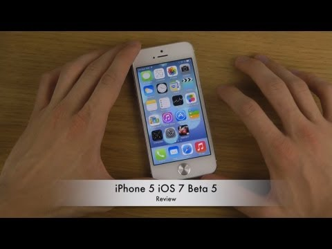 iPhone 5 iOS 7 Beta 5 - Review