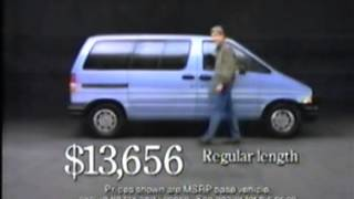 1990 Ford Aerostar commercial