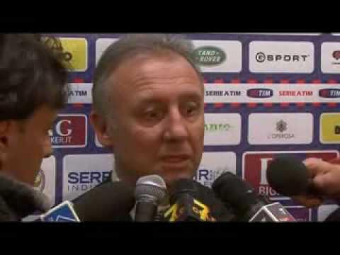 Telesanterno   Intervista Alberto Zaccheroni   22 febbraio 2010