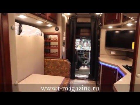 Жизнь в грузовике: спальник Peterbilt 579