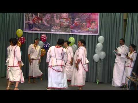 Redditch Ladies Margamkali,    Video - Aji Akasala video