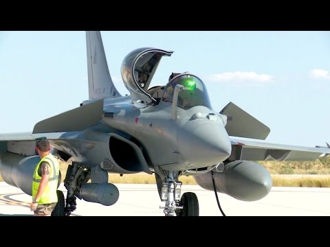 Dassault Rafale - Preflight-check and Takeoff
