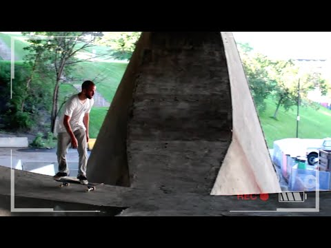 "JOE GNAR ""3 FLIP"" UNDER A BRIDGE : MONTREAL, CANADA"