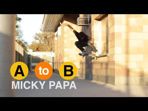 Micky Papa Skates West Los Angeles  - A to B