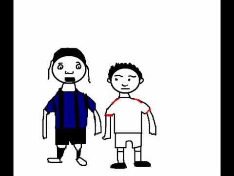 Cristian Chivu punch  vs Bari