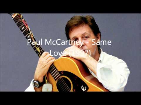 Paul McCartney - Same Love