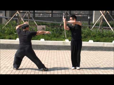 7 Stars Mantis - Cross Mei Hua Dao Vs Dao [shi Zi Mei Hua Dui Zi Dao] Part One video
