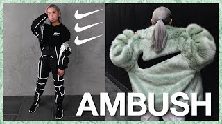 AMBUSH x Nike Collaboration | Closer Look + Try On + Sizing Info