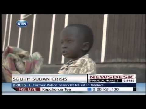 Thousands of refugees from south Sudan flock into Kenya with humanitarian crisis looming