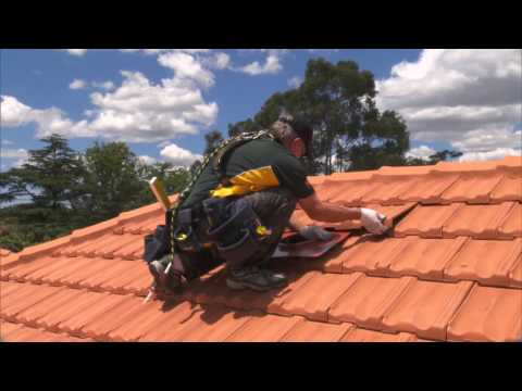 Installing an Edmonds SupaVent on your Tile Roof