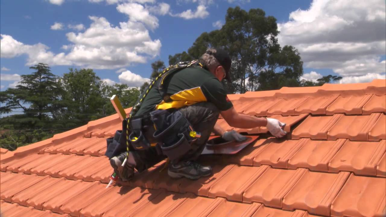 Installing An Edmonds Supavent On Your Tile Roof Youtube