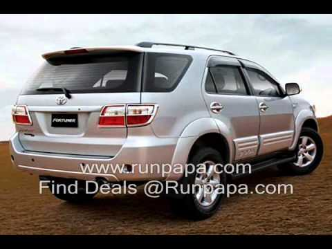 Toyota Fortuner Prices. Toyota Fortuner Cost