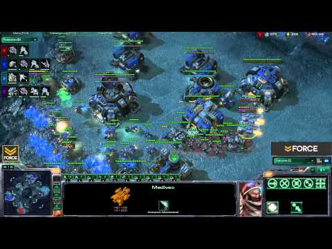 StarCraft 2 - 2v2 Select [T] FxOptikZero [P] vs LastShadow [T] sixjaxMajOr [T] - Commentary
