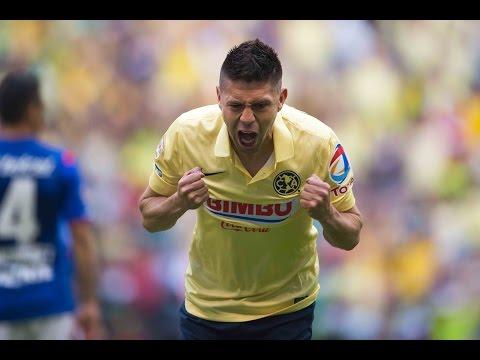 Gol de Oribe Peralta - América 1 Vs 0 Cruz Azul