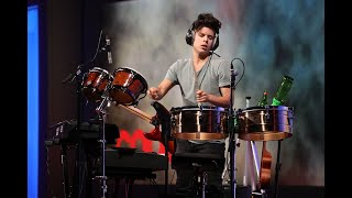 Rudy Mancuso performs at Recode's Code Conference 2018