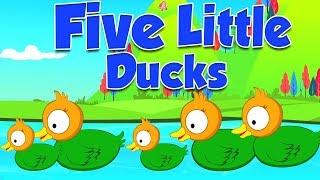 năm con vịt nhỏ | ươm vần | nhac thieu nhi hay nhất | Five Little Ducks | Kids Rhymes Vietnam