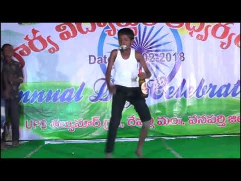 chupultho guchi guchi champake song dance Performance    Ups Thalupnoor   Thadadhi Buchaiah