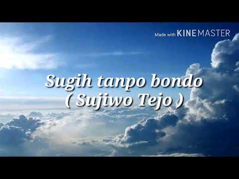 Sugih tanpo bondo ( Sujiwo Tejo ) lirik & cover