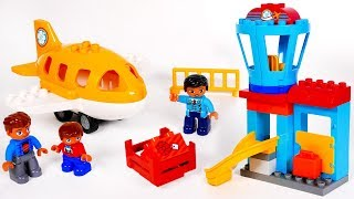 Learn Colors with Lego Airplane Playset for Children | Learn with Yippee Toys