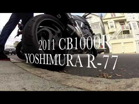 Honda CB1000R YOSHIMURA ¾ R-77 CARBON