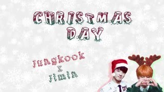 ⌈MERRY X-MAS⌋ Jimin x Jungkook - Christmas Day [Color coded Han|Rom|Eng Lyrics]