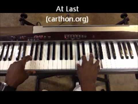 At Last by Etta James: Order Lafayette Carthon Skype Lessons or Tutorials