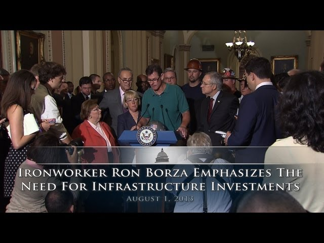 Ironworker Ron Borza Emphasizes The Need For Infrastructure Investments