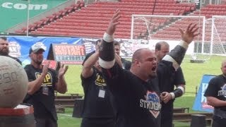 BRIAN SHAW MAKES A NEW WORLD RECORD - MAY 2014 - ULTIMATE STRONGMAN