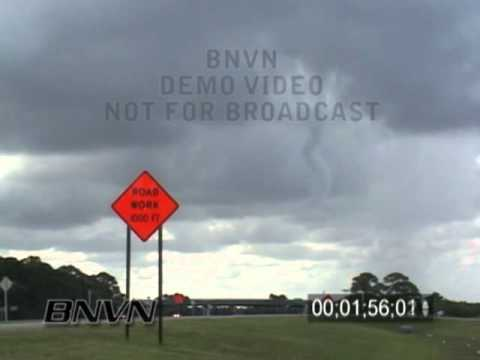 8/11/2006 Sarasota, FL Waterspout Video