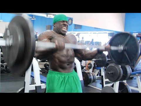 Intense Bicep Bodybuilding Workout w/ Kali Muscle & Big J! | Furious Pete