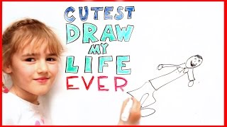CUTEST Draw My Life EVER!!!