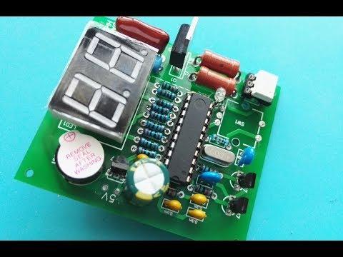 Микроконтроллерный таймер для споттера своими руками 21