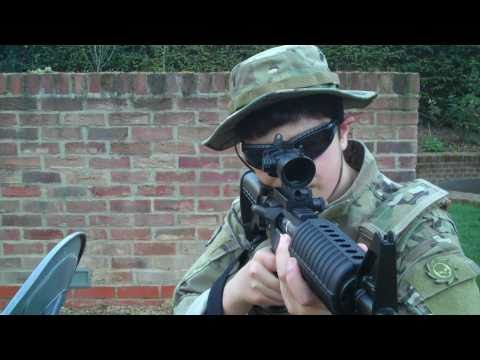 G&G Gr-16 Shooting Test Airsoft