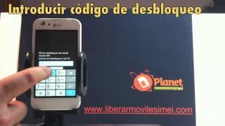 Como liberar movil LG® P970 Optimus