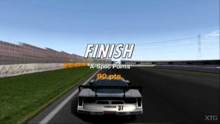 Gran Turismo 4 - Mazda RX-7 LM Race Car HD PS2 Gameplay