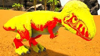 Bebê Megalossauro William - Deficiente Do Sono, Mim Afastei Do Meu Território! Ark Survival Evolved