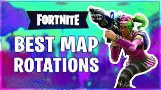 HOW TO WIN | Map Rotation Tips & Guide (Fortnite Battle Royale)