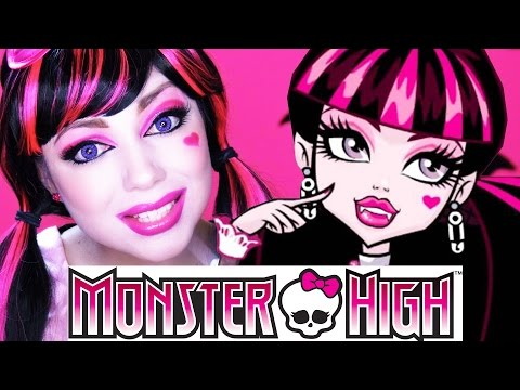 Monster High - Draculaura MAKEUP!