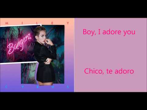 Miley Cyrus- Adore You Lyrics Subtitulado Español